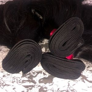 100% real human hair bundles